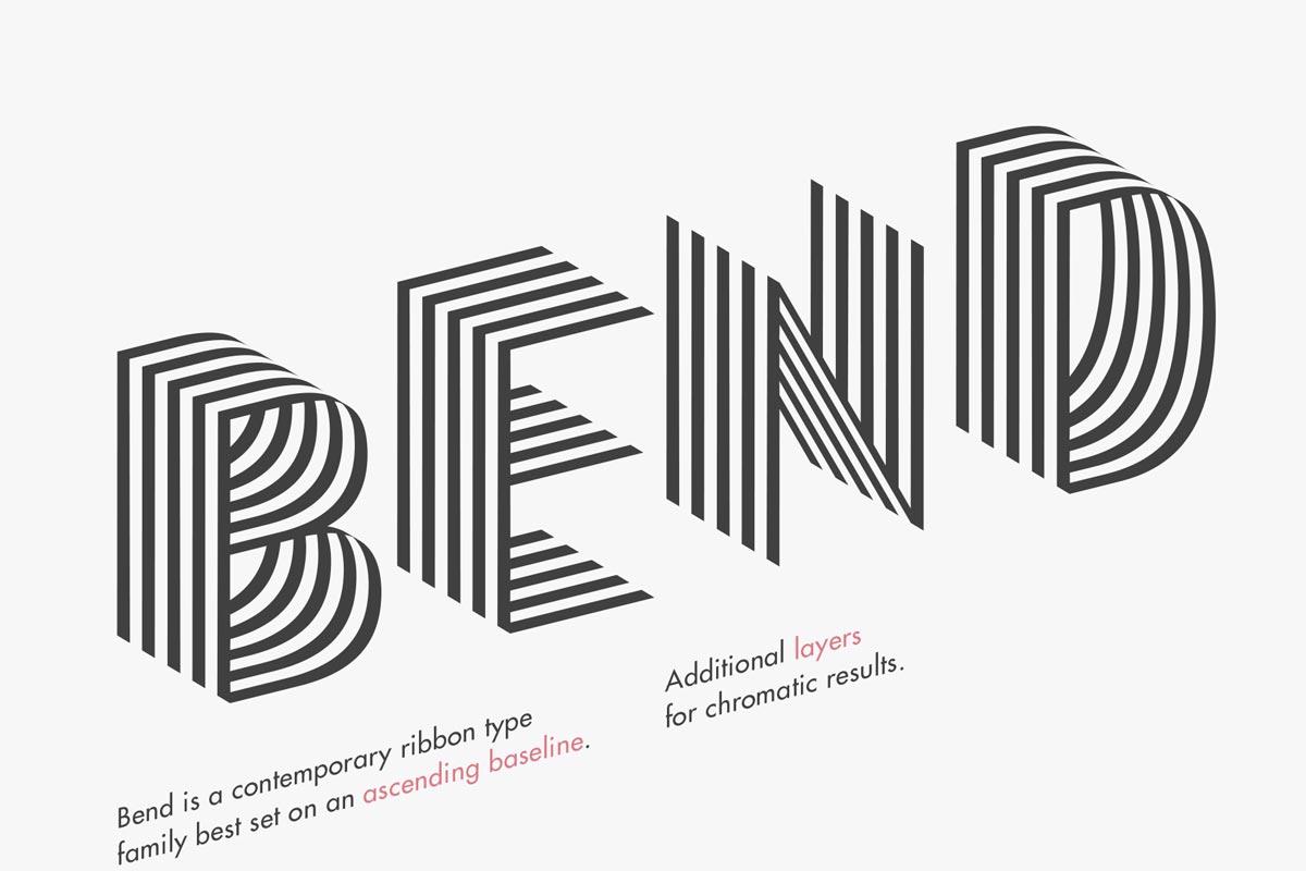 Free Bend Sans Serif Font