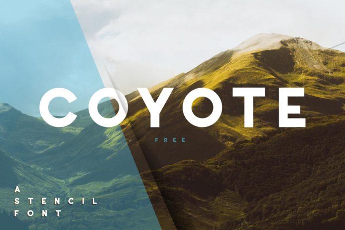 Free Coyote Sans Serif Font
