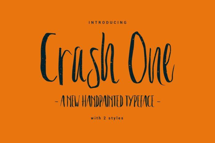 Free Crash One Typeface