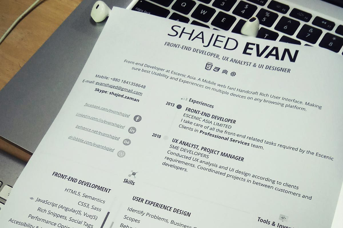 beautiful creative resumes for designers contemporary resume