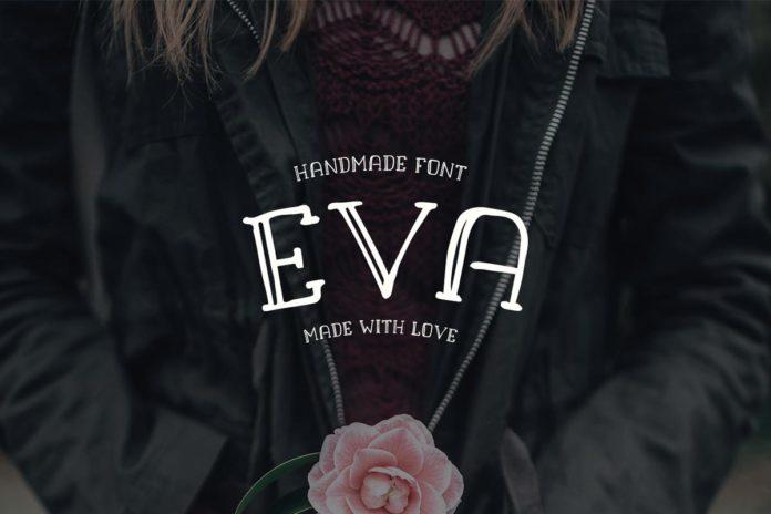 Free EVA Handmade Font