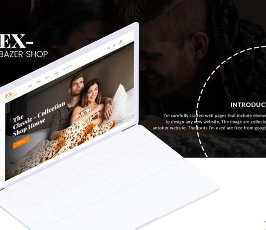 Ecommerce Website Design Adobe XD