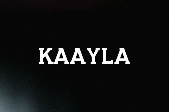 Free Kaayla Slab Serif Demo Font