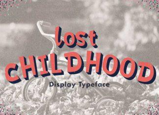 Free Lost Childhood Display Font
