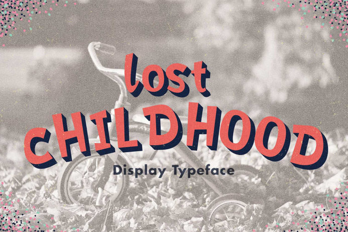 Free Lost Childhood Display Font