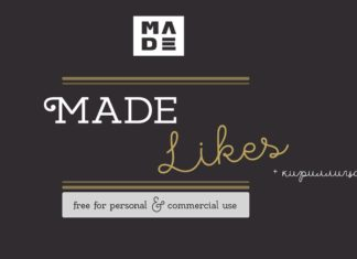 Free Made Likes Typeface