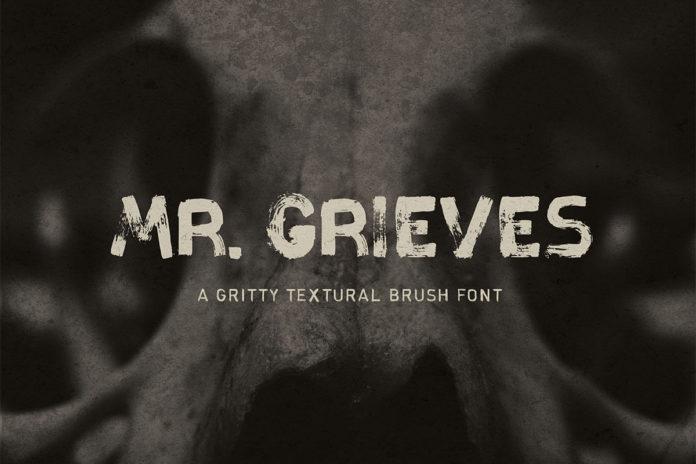 Free Mr Grieves Handmade Sans Serif Font