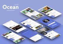 Free Ocean UI Kit