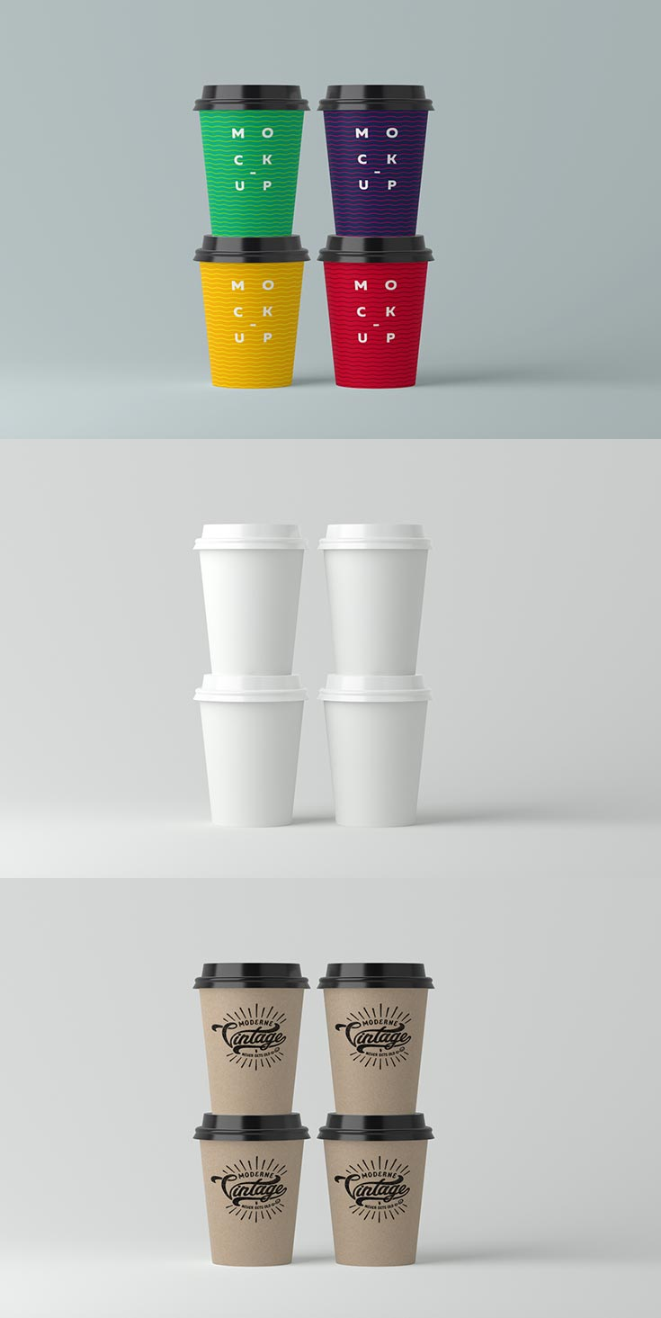 Free Papercup PSD Mockup is simply easy to use. It's great way to present your design to customer or place it to your portfolio.