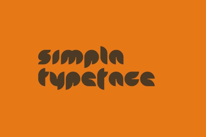 Free Simpla Display Typeface
