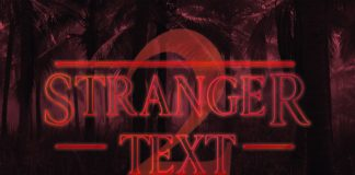 Free Stranger Things Season 2 PSD Text Style