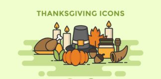 Free Thanksgiving Icons Pack