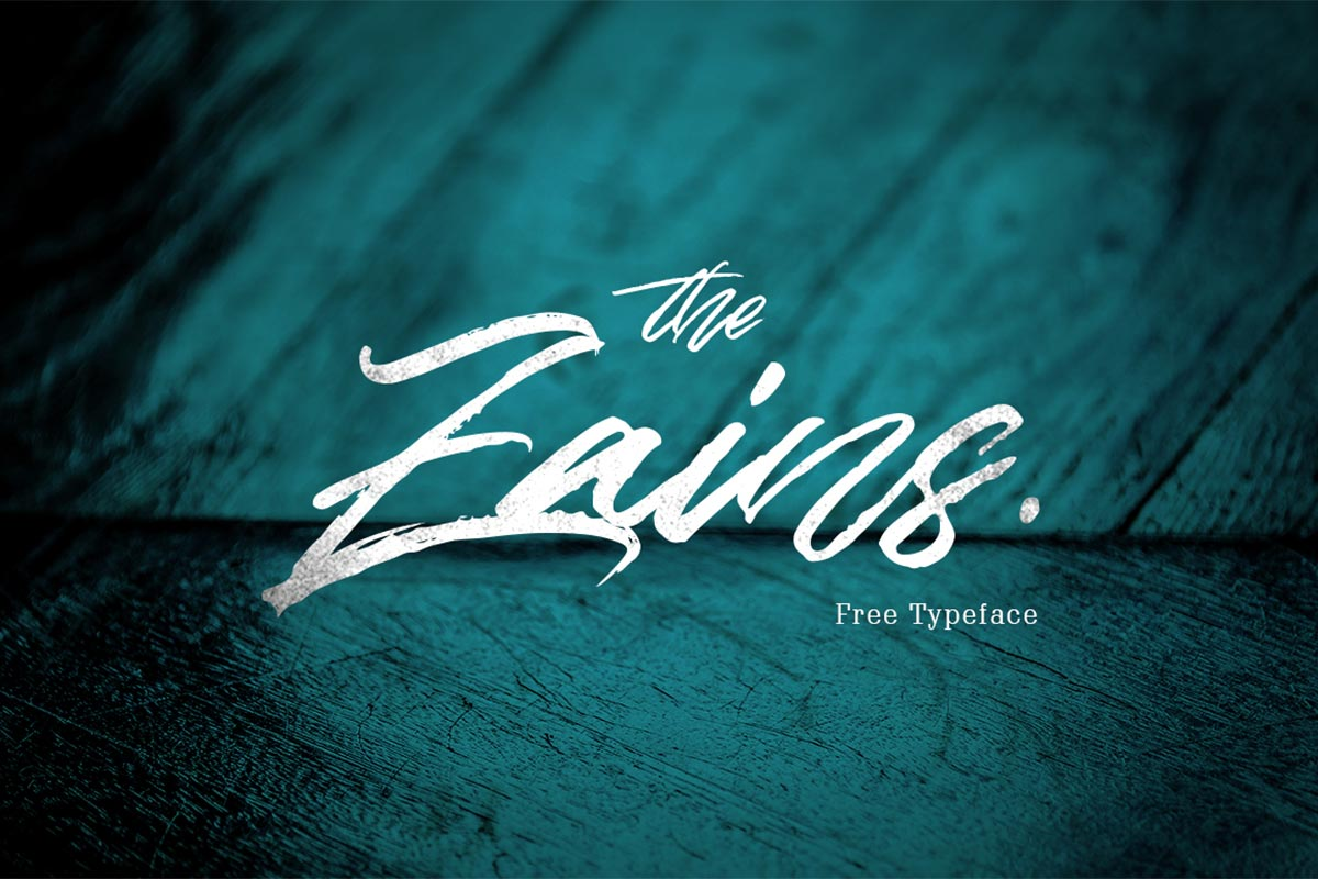 Free Zains Typeface