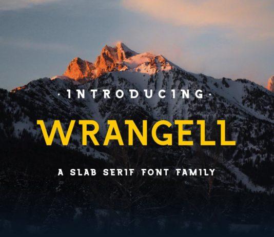 Free Wrangell Slab Serif Font
