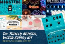 The Totally Artistic, Vector Supply Kit Just $29
