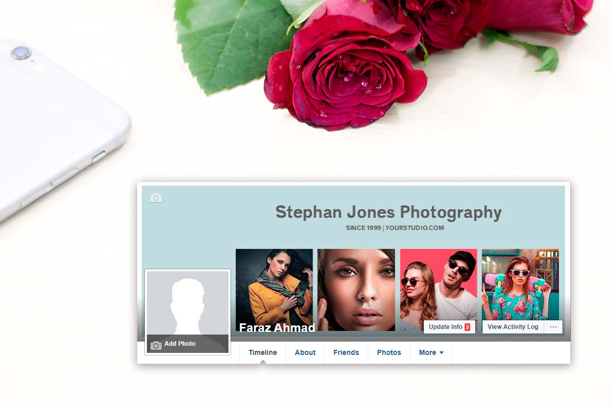 Facebook Timeline Cover Photography Templates Vol 1 Creativetacos