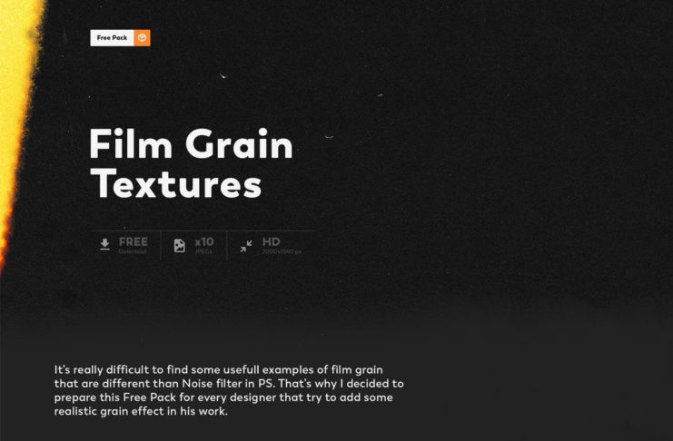 Free 10 Film Grain Textures