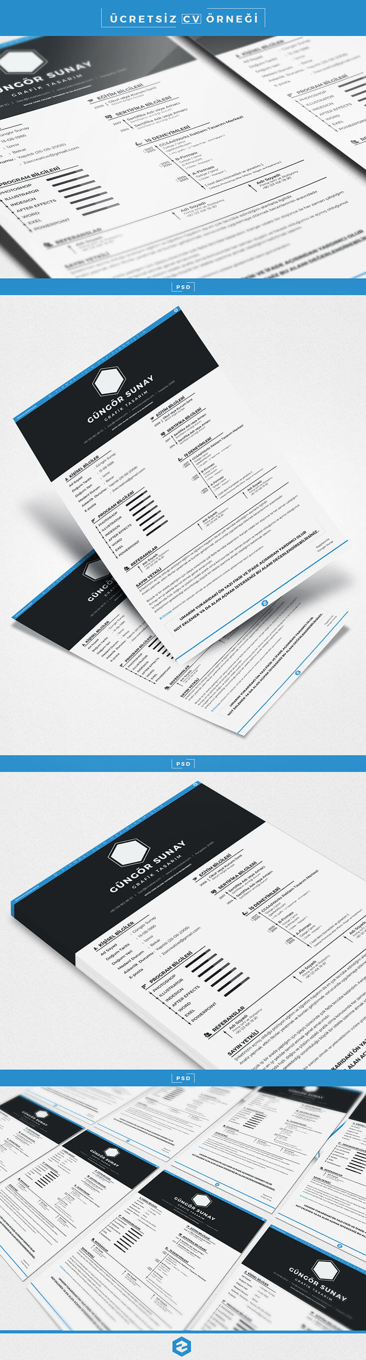 Free CV #Sample #PSD #Template template and take your job life to the next level. It's a fully editable so you can replace the text, change the name.