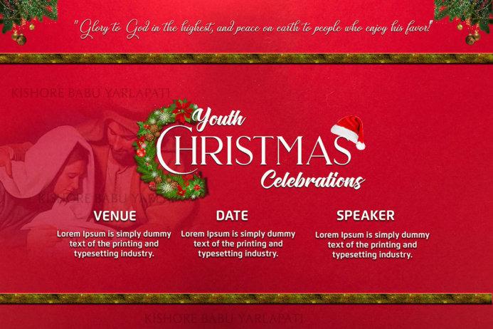 Free Christmas Banner PSD