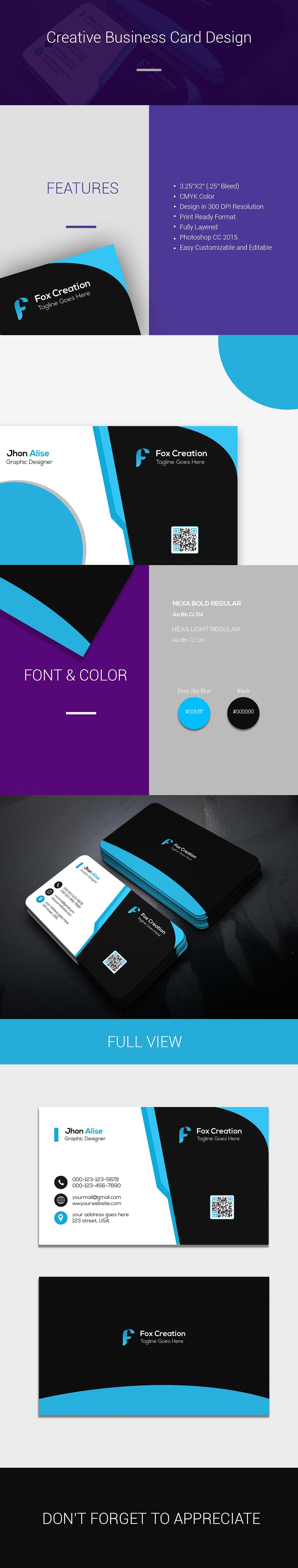 Free Creative Business Card Design