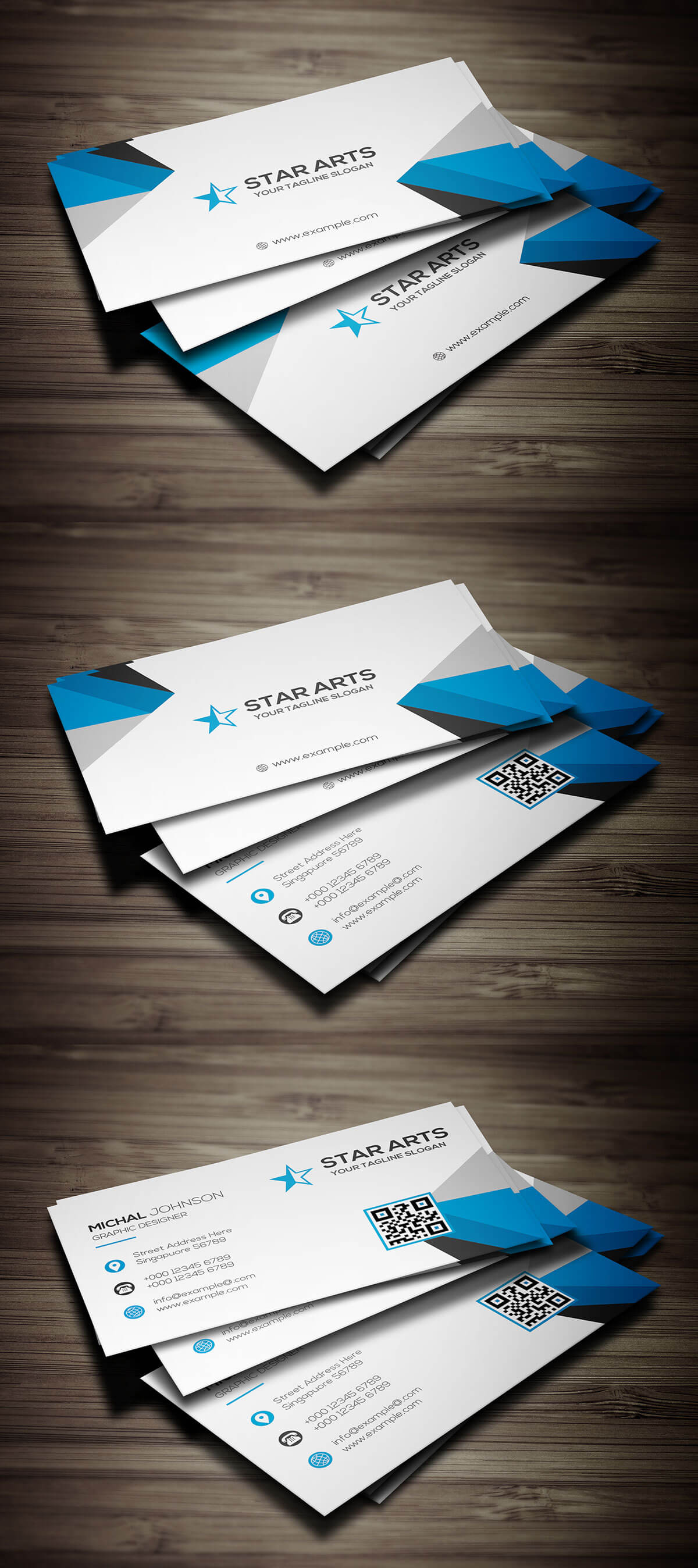 Business Card Address Choice Image - Free Business Cards