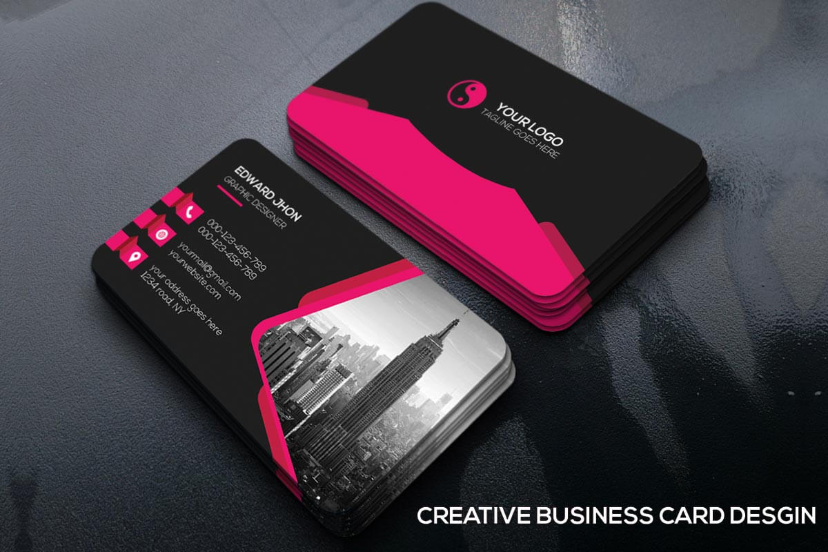 Free creative business card template creativetacos free creative business card template cheaphphosting Gallery