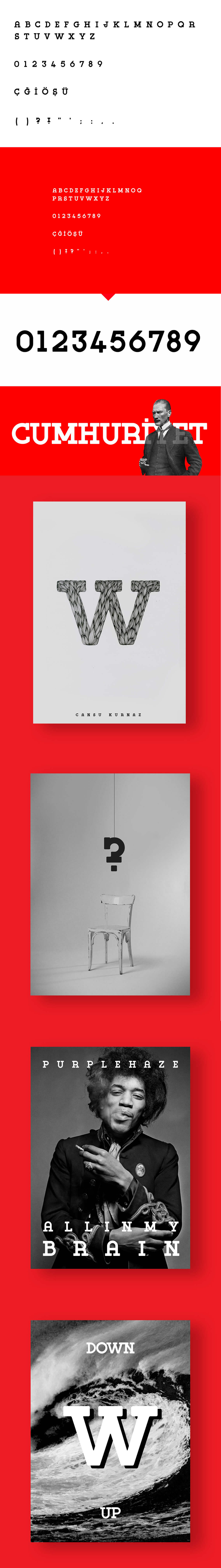 Free Derinoğullu Typeface