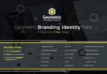 Free Geometric Branding Identity Pack