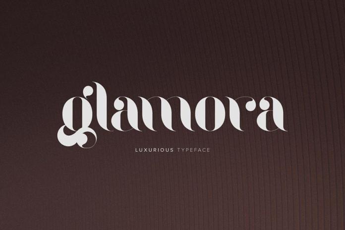 Free Glamora Stencil Font