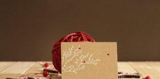 Free Invitation Greeting Card Mockup