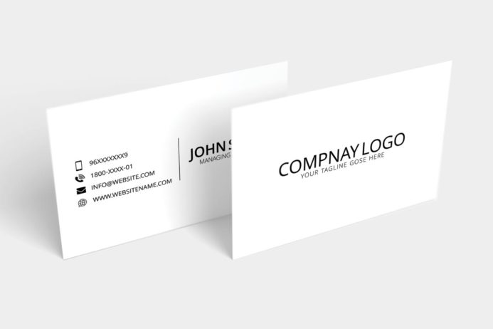 Free Minimal Modern Business Card