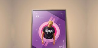 Free Photostatic Picture Frame Mockup