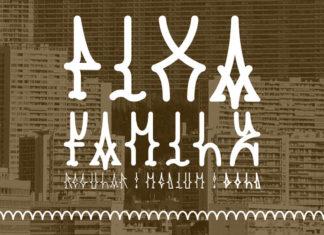 Free Pixa Type Font Family