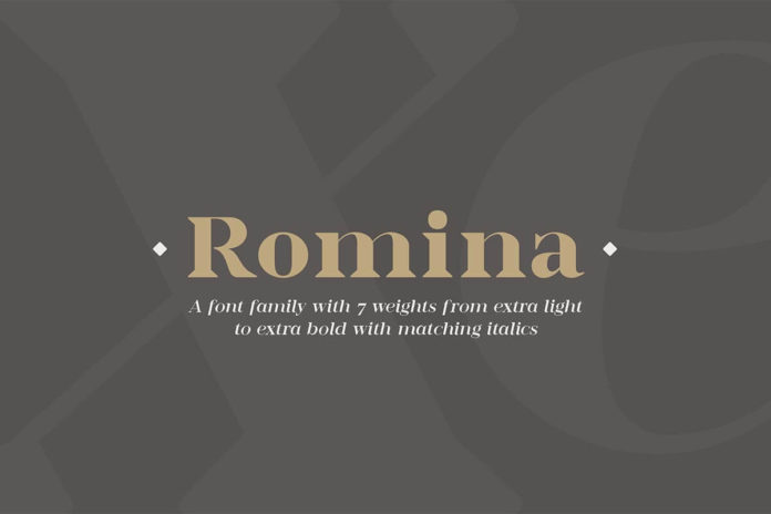 Free Romina Serif Demo Font Family
