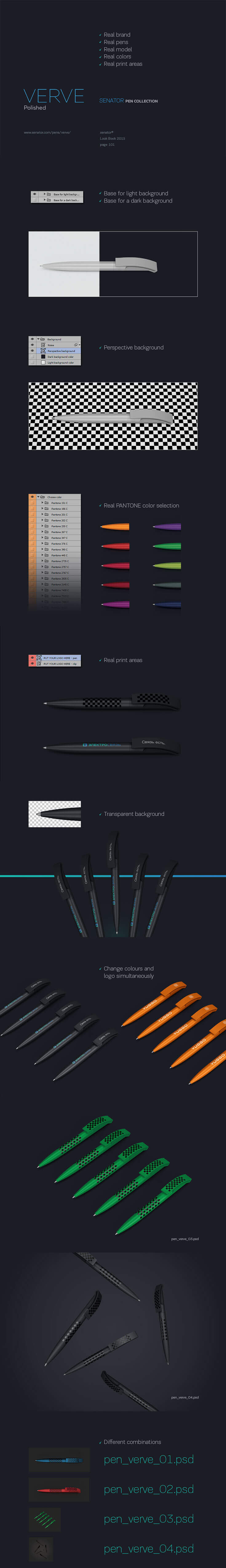 Free Senator #Pen #Mockup #Verve helps you to showcase your own design of a logo in professional appearances. It is available in 4 different styles.