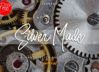 Free Silver Made Script Typeface