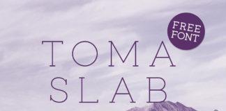 Free Toma Slab Demo Font