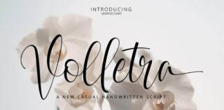 Free Volletra Script Font