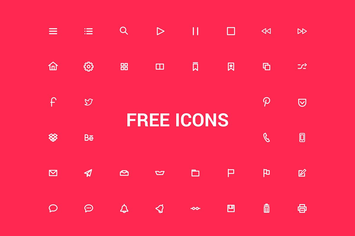 200 Free Icons Pack