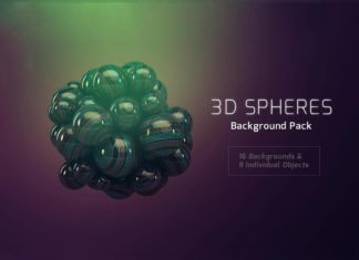 Free 3D Sphere Backgrounds Pack