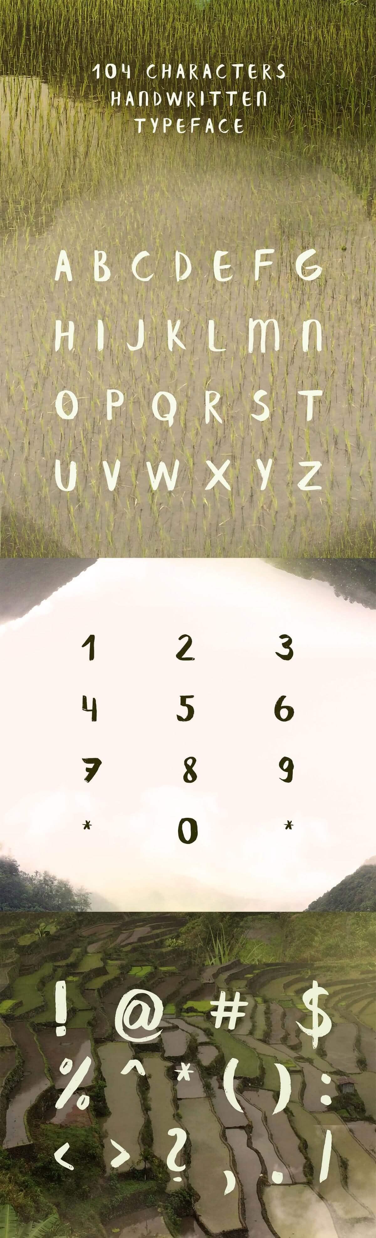 Free Banaue Brush Script Font