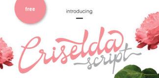 Free Criselda Script Font