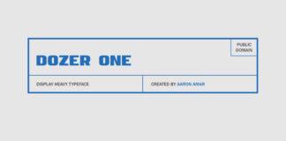 Free Dozer Sans Serif Typeface