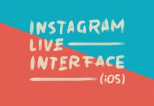 Free Instagram Live Interface PSD