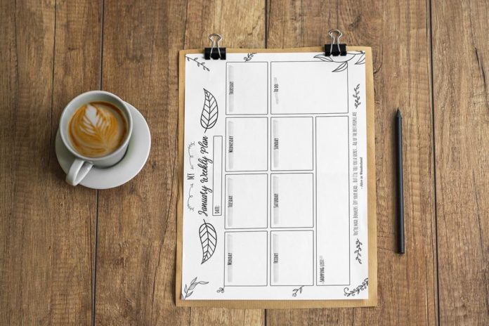 Free January Weekly Planner