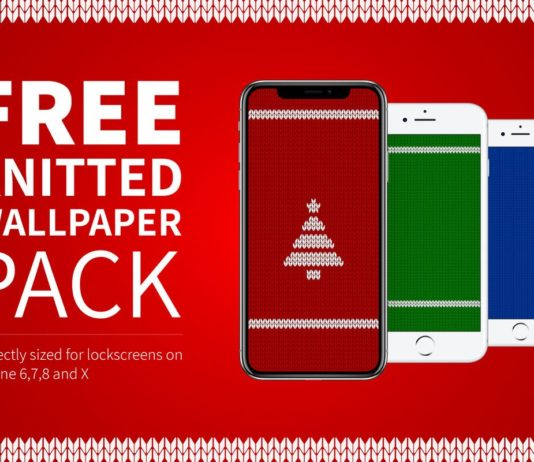 Free Knitted Wallpaper Pack for iPhone
