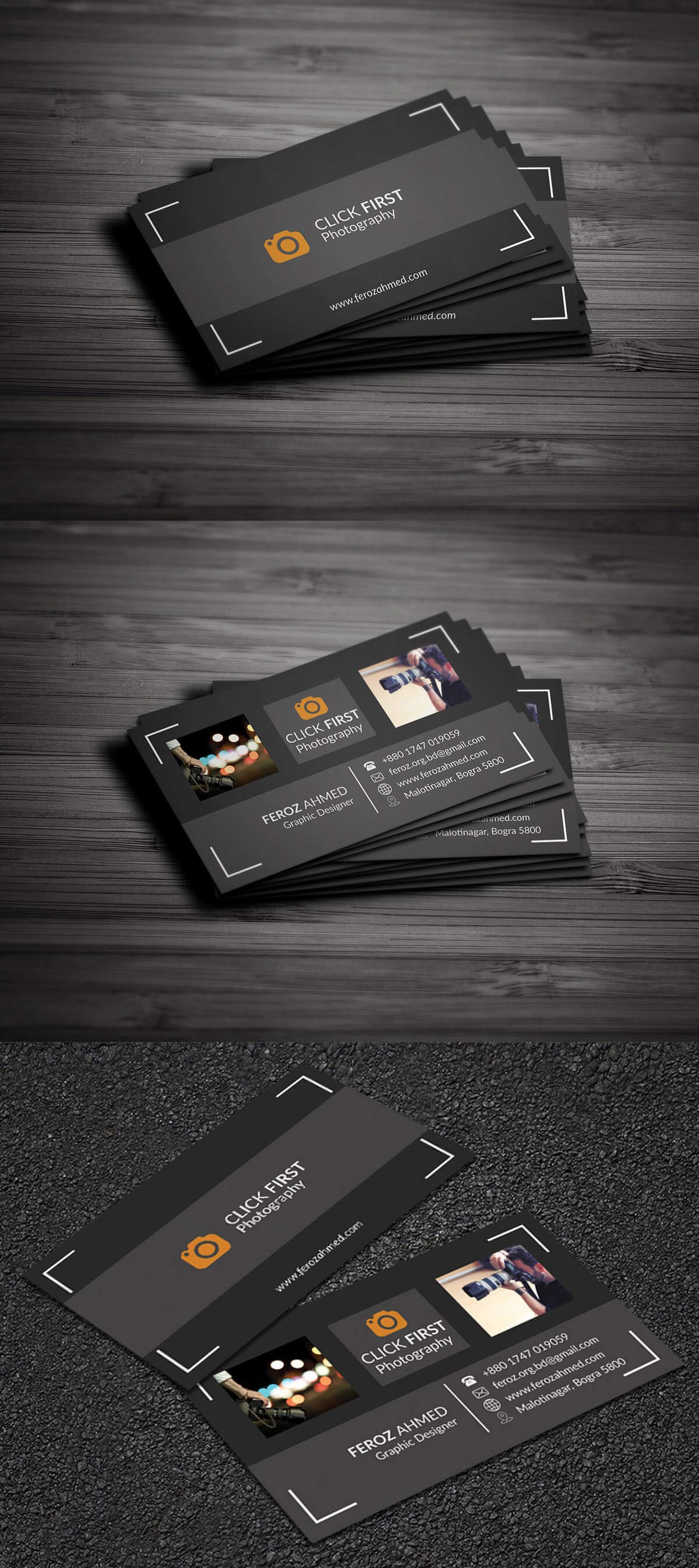 Free photography business card template creativetacos free photography business card template friedricerecipe Images