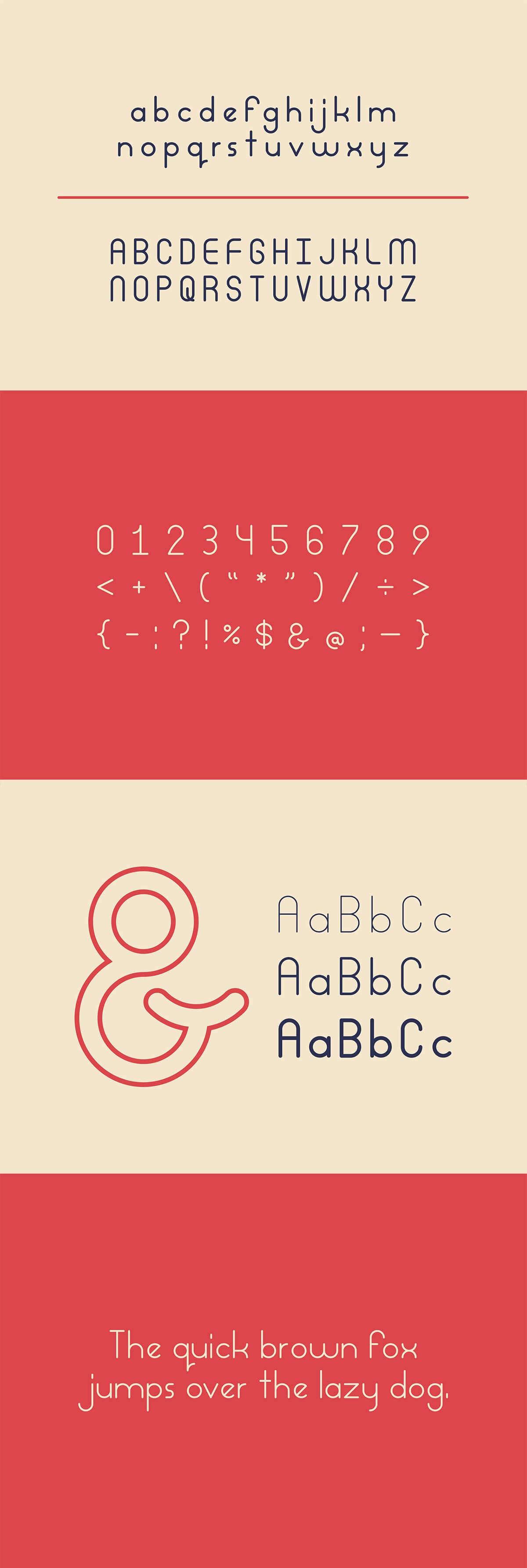 Free Podriq Sans Serif Font Family Pack