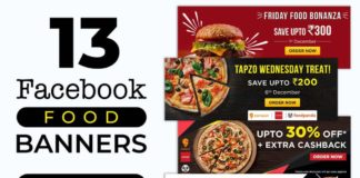 Free Social Media Food Banners PSD