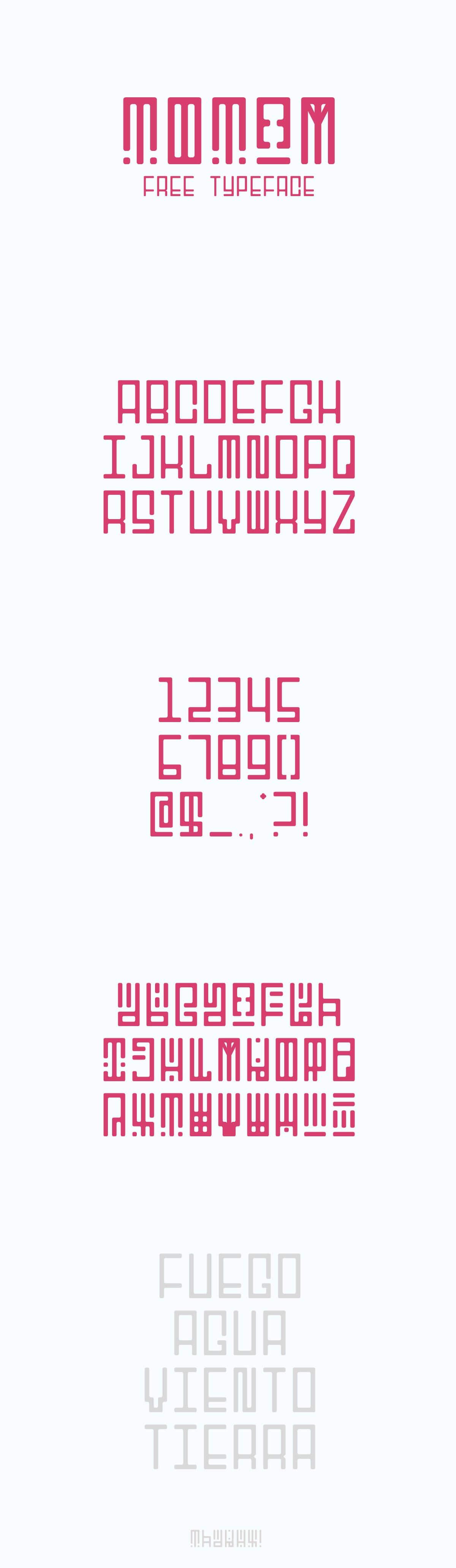 Free Totem Display Font